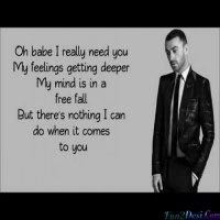 Oh Babe I Really Need You My Feelings Getting Deeper (Sam Smith)